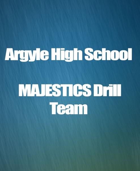 Arglye HS Majestics Drill Team