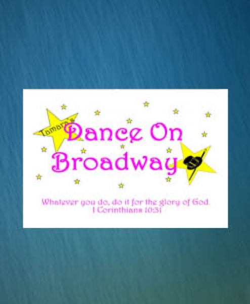 Tamara's Dance on Broadway