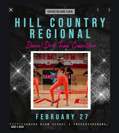 Danceline-Hill Country Contest | Feb. 2021